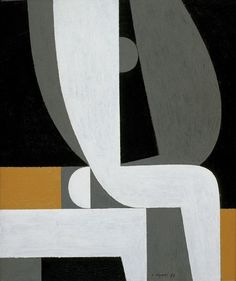 Yannis Moralis / Γιάννης Μόραλης is an outstanding figure in Modern Greek painting. He became a professor at the School of Fine Arts at a very early age and for years taught the younger generations of Greek painters. Modern Art, Contemporary Art, Greek Paintings, Deco Paint, Abstract Geometric Art, Greek Art, Mid Century Art, New Art, Sculpture Art