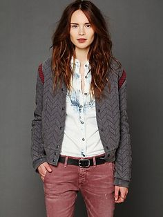 FP New Romantics Quilted Baseball Jacket http://www.freepeople.com/whats-new/fp-new-romantics-quilted-baseball-jacket/