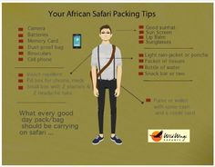 What you need to know about packing for an African Safari ... | Wild Wings Safaris Blog