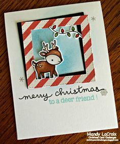 Scrappity-Doo-Da: Christmas Card Challenges #42 - Anything Goes