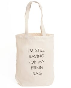 Resuable eco-bags help the environment while saving us money…but let's keep the end-goal in mind! Slogan design hand screen-printed onto natural canvas in Sheffield, UK.