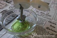 2 mesures de peinture pour 1 mesure de savon de vaisselle sur un papier plastifié et les usages sont multiples !