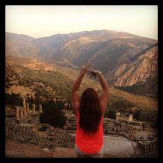 Being Greek in Greece. TSM.