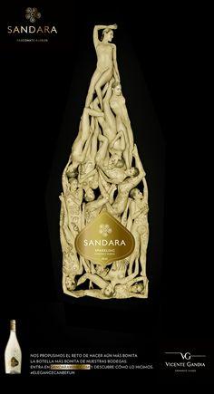 La botella m�s bonita del mundo ... de Sandara