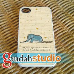 The Little Prince Quote   iPhone 4/4s/5/5c/5s Case by Goudahstudio, $15.00