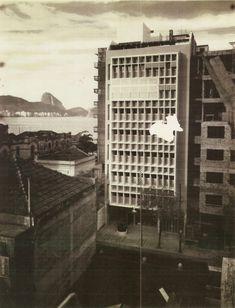 Edifício MMM Roberto, Rio de Janeiro, Brasil, Marcelo e Milton Roberto, 1945