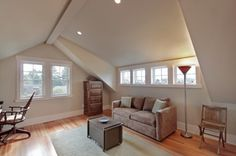 Shed Dormer addition--interior