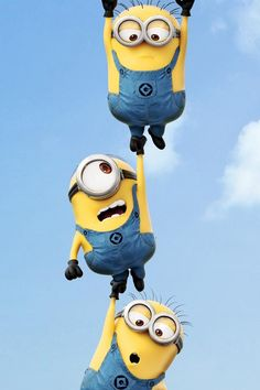 Cute minion wallpaper!!! I got it from this cool wallpaper app...Wallpapers HD