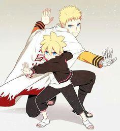 Fight with love.. #Boruto and Naruto