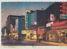 Ste-Catherine Street in the 60s Old Pictures of Montreal - SkyscraperCity