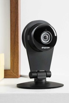 Meet Dropcam. Live streaming online. 130 degree view. 8x zoom. Built in mic. Built in speaker.