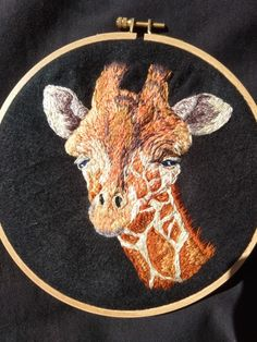 Embroiderd on felt