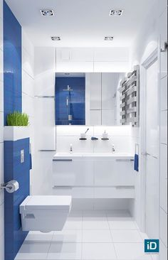 Here's one thing that makes blue bathroom ideas distinctive as compared to the blue bedroom and blue living room ones. In blue bathroom ideas, you can experiment with various blue ceramics for both . Red Bathroom Decor, Brown Bathroom, Bathroom Colors, Bathroom Interior Design, Modern Bathroom, Bathroom Ideas, Shower Ideas, Bathroom Accessories, Bathroom Lighting