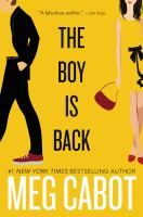 The Boy Is Back by Meg Cabot.  Release Date 10/18/2016.
