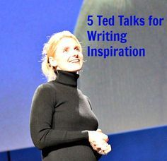 5 Ted Talks for Writing Inspiration. Whenever you have a spare 15 minutes and need to fire up your creative brain for writing a book, watch one of these and be inspired.