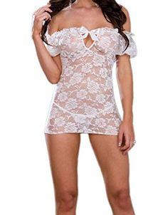 Sleepwear Lingerie Sexy Lace Corset Dress G-strings Set ANDI ROSE http://smile.amazon.com/dp/B00KV6HXOE/ref=cm_sw_r_pi_dp_IkZRtb0NZF4RFKWT