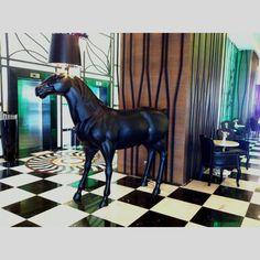 Horse at Delphin Imperial Lobby Antalya, Horses, Places, Animals, Animales, Animaux, Animal, Animais, Horse