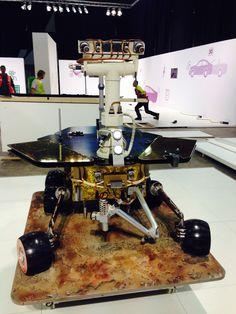 Voorbereidingen voor een succesvol event in volle gang. Mars rover Opportunity - Energy Lab, Shell Eco Marathon 15-18 mei 2014