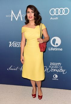 Actress Salma Hayek Pinault attends Variety's Power Of Women Luncheon at the Beverly Wilshire Four Seasons Hotel on October 9, 2015 in Beverly Hills, California.