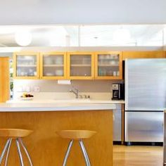Mid Century Modern Kitchen Remodel mid century crown molding - google search | built in window unit