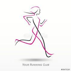 Image result for running logo