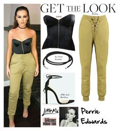 """""""Perrie Edwards Instagram /Omaha February.6.2017"""" by valenlss ❤ liked on Polyvore featuring Boohoo and ASOS"""