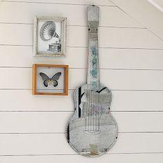 Guitar Shaped Mirror #pbteen