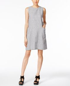 198.00$  Watch now - http://visfg.justgood.pw/vig/item.php?t=oeqtyt123364 - Boxy Shift Dress, a Macy's Exclusive Style 198.00$
