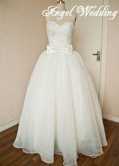 Custom Wedding Dress Vintage Lace Wedding by AngelWeddingDress, $298.00