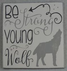 Be Strong Young Wolf With Arrows Wood Sign Woodland Nursery or Child's Room Decor Be Strong Young Wo Third Baby, Be My Baby, Kindergarten, She Wolf, After Baby, Pregnant Mom, First Time Moms, Woodland Nursery, Rustic Nursery