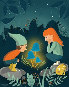 illustration Guache, Pennies, Childrens Books, Appreciation, Stuffed Mushrooms, Behance, Illustrations, Graphic Design, Projects
