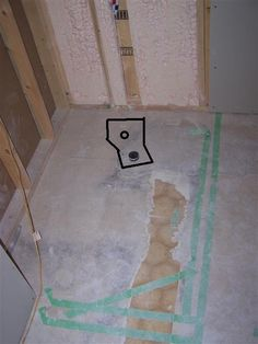 Fresh Basement Shower Drain Rough In