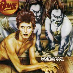 Caratula Frontal de David Bowie - Diamond Dogs