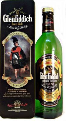 Glenfiddich Clan Montgomerie Single Malt Scotch Whisky 43% 75cl Discontinued Clans of the Highlands of Scotland Collection