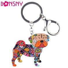 If life is like a box of chocolates then this Bonsny Acrylic  P... is like fine wine.. Get yours today!! http://mycicret.info/products/bonsny-acrylic-pug-dog-key-chain-for-women-bag?utm_campaign=social_autopilot&utm_source=pin&utm_medium=pin