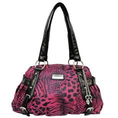 05720f5386 Red D-Fusion Satchel with Flower Applique