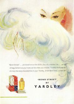 vintage purfume | Vintage Perfume Advertisements