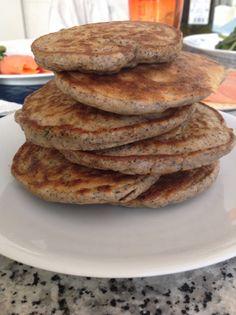 Pancakes al grano saraceno ed erbe