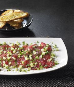 Todd English's Tuna Crudo