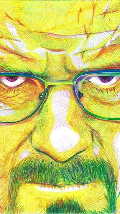 Post with 109 votes and 3163 views. Shared by ArtofKyleWillis. Walter White of Breaking Bad ballpoint pen illustration Bad Fan Art, Breaking Bad Art, Bad Drawings, Pen Illustration, Walter White, Lowbrow Art, Unique Art, Photo Art, Fine Art Prints