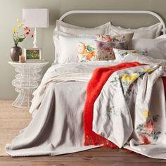 zara home/Chevron Chenyl Bedspread
