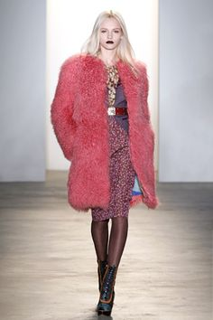 Peter Som Fall 2010  Model: Ginta Lapina