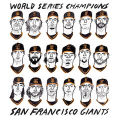 San Francisco Giants Print by KristinaMicotti on Etsy
