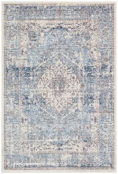 Classic Rugs, Traditional Rugs, Persian Rug, Vintage Looks, Oriental Rug, Ivory, Concept, Blue Rugs, Pattern