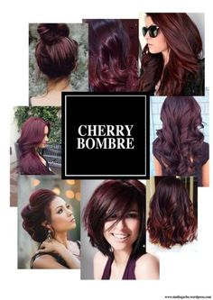 9 hottest burgundy hair color ideas cherry bombre for 2017