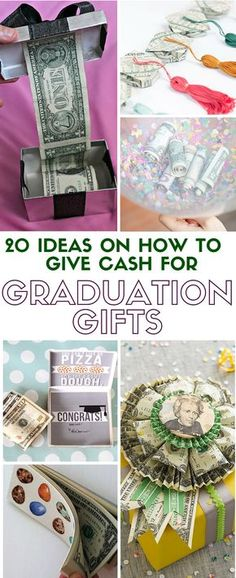 Ideas on How to Give Cash for Graduation Gift Graduation is an exciting time. Show your support and excitement with a fun handmade graduation gift that everyone will want.Support Support may refer to: Graduation Presents, College Graduation Gifts, Grad Gifts, Graduation Cards, Party Gifts, Teacher Gifts, Diy Gifts, Handmade Gifts, Graduation Ideas