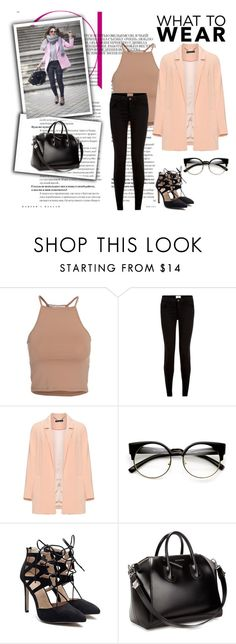 """fhtfu"" by horan-69 on Polyvore featuring мода, NLY Trend, Manon Baptiste и Givenchy"