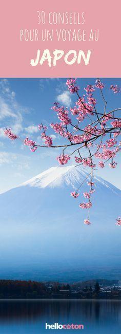 30 conseils pour préparer son voyage au Japon #voyage #asie #japon #roadtrip
