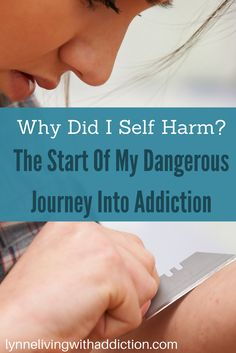 Why Did I Self Harm? The Start Of My Dangerous Journey Into Addiction Self harm is a form of addiction and very often it is brought on by a traumatic experience, here's what happened to me. Teen Mental Health, Mental Health Resources, Mental Health Issues, Self Harm Cover Up Tattoo, Turn Your Life Around, Compulsive Disorder, Addiction Recovery, Toxic Relationships, Coping Skills