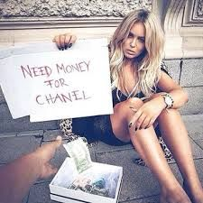 NEED MONEY FOR CHANEL